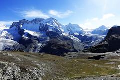 D20090.  From the Gornergratbahn. (Ron Fisher) Tags: schweiz suisse svizzera switzerland kantonwallis valais cantonvallese europa europe zermatt mountain snow glacier gletcher diealpen thealps swissalps alpessuisses schweizeralpen alpisvizzere sony sonyrx100iii sonyrx100m3 compactcamera