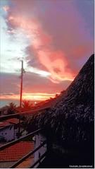Sunrise emerges on Canoa Quebrada beach an amazing red sky (juramontenegro) Tags: red sky sunrise brasil ceará castelo amanhecer céu sol núvens nuages rouge rosado aracati alba roso natureza ciel mar terraço artes leverdusoleil nascerdosol canoa quebrada praia plage