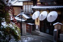 二寧坂3・Ninenzaka (anglo10) Tags: japan kyoto 京都府 東山 清水 雪 snow 建築物 architecture