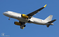 Vueling Airlines (Guilherme_Martinez) Tags: aircraft airbus airbuslovers sky summer sun sunset planespotting passion portugal follow family followme cool clouds lisboa love lisbon lovers like