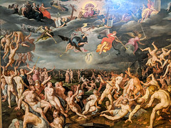 """The Last Judgement"" (16th c.), Jacob de Backer the Younger (Joey Hinton) Tags: phoenix art museum pixel2 google android smartphone cellphone cameraphone phone arizona"