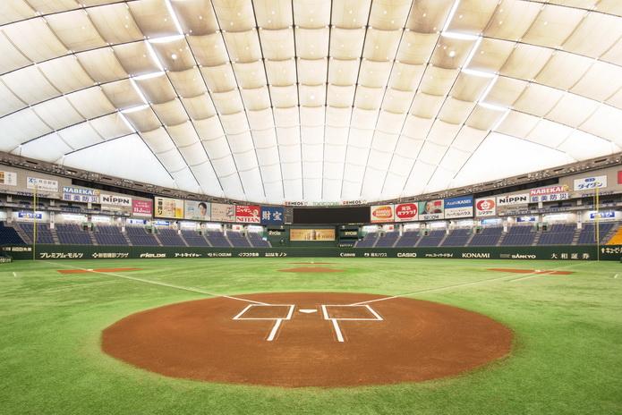 東京巨蛋內部球場