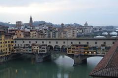 Ponte Vecchio (unciclamino) Tags: florence monument pontevecchio lights candles church mosaic
