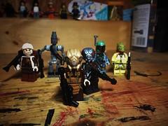 Bloody Finally (Lord Allo) Tags: lego star wars empire strikes back bounty hunter zuckuss 4lom boba fett ig88 bossk dengar