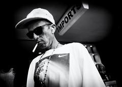 Candid Portrait - Streets of Lake Worth (Mircea D. Tagui) Tags: streetphotography street candid monochrome blackandwhite smoking smokingstreets cigarette lakeworthflorida fujifilmxt2 fujinonxf16mmf14