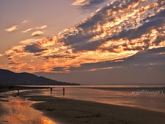 Lisfannon beach, Co. Donegal. (willieguildea) Tags: sun sunset sky clouds evening beach shore nikon p900 coolpix coast coastal coastalireland landscape ulster ireland eire donegal