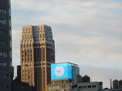 2019 March Morning Light Clouds 3521 (Brechtbug) Tags: 2019 march morning light clouds virtual clock tower from hells kitchen clinton near times square broadway nyc 03112019 new york city midtown manhattan winter spring weather building breezy cloud hell s nemo southern view