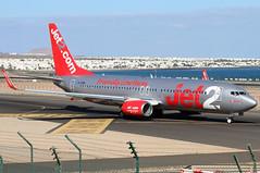 G-JZHX (GH@BHD) Tags: gjzhx boeing 737 738 737800 b737 b738 ls exs jet2 ace gcrr arrecifeairport arrecife lanzarote aircraft aviation airliner