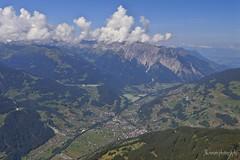 The valley of Schruns AT (José Kroezen) Tags: montafon schruns moutainbike mountains mountainfiew mountainview mouintains austria oostenrijk clouds summer nikon nikonj5