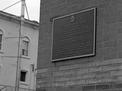 Project:1867 - John Weir Foote V.C. Armoury (Alex Luyckx) Tags: hamilton ontario canada downtown urban city historicdowntown johnwfootevcarmoury johnwierfootevc johnwfoote armoury canadianarmy canadianforces royalhamiltonlightinfantry northdrillhall departmentofnationaldefense project1867 canadianhistory history militaryhistory politicalhistory mamiya mamiyam645 slr 120 mediumformat 6x45 645 mamiyasekorc150mm135n harmantechnologies ilfordphoto ilford ilfordfp4 fp4 asa100 kodak kodakd23 d23 stock 10 pentaxspotmeterv epsonv700 adobephotoshopcc bw blackwhite film filmphotography believeinfilm filmisalive filmisnotdead