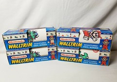 North American Decorative Products Super Mario Bros Nintendo Wall Trim 05 (gamescanner) Tags: north american decorative products super mario bros nintendo wall trim covering walltrim decor sculpted vinyl border upc 058559709011 058559709035 rosewall inc 1989 sku 70902