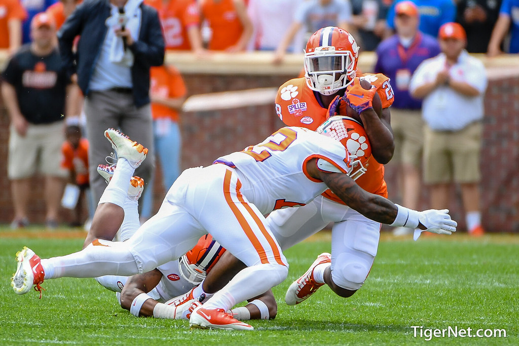 Clemson Photos: kvonwallace, Tavien  Feaster, 2019, Football