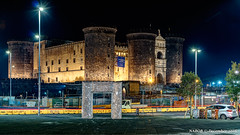 Naples, Italy: Castel Nuovo (nabobswims) Tags: campania hdr highdynamicrange ilce6000 it italia italy lightroom mirrorless nabob nabobswims naples napoli night nightfoto photomatix sel18105g sonya6000 itlay
