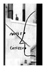 artist citizen (Marie Hacene) Tags: palaisdetokyo paris noir et blanc musée silhouette