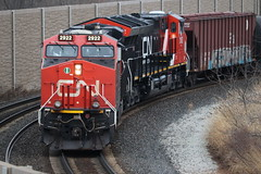 2 CN GEVOs (aquascissors) Tags: railroad railway railfanning rail railfan rails trains train canadiannational chicago illinoiscentral southsuburbs cn cngevo es44 es44dc cnes44dc