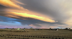 Fire Sky (northwest) (northern_nights) Tags: sunrise wavecloud cheyenne wyoming altocumulus