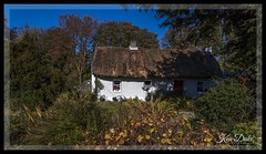 cottage (Ken Duke Photography) Tags: cottage ireland thatchedroof garden