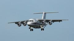 The Ferryman (ƒliçkrwåy) Tags: ze700 bae 146 raf royal airforce brize norton military aircraft aviation