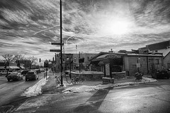 Afternoon in Naperville (kendoman26) Tags: hmm happymonochromemonday hss hdr nikhdrefexpro2 niksilverefexpro2 napervilleillinois sonyalpha sonya6000 sonyicle6000 sonyphotographing sonypz1850 selp1650