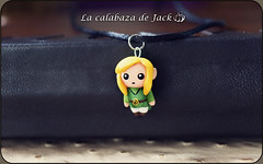 Link Necklace - Zelda (LaCalabazadeJack) Tags: link zelda nintendo switch videogame game gamer chibi cute kawaii geek fan art polymer clay polyclay charm jewelry joyería necklace collar accessory accesorio handmade handcraft craft tutorial la calabaza de jack cristell justicia artesanía tienda online shop comprar venta