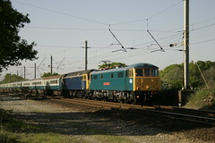 KT86101+ 47839 balshaw lane jcn, 5z86 crewe-preston+rtn 0205 (Kevin truby) Tags: aclocogroup wcml class86 86101 balshawlanejunction