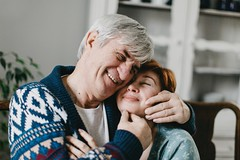 Jerzy&Irina (Yuliya Bahr) Tags: love together hug kiss couple elderly candid happy smile engagement family parents