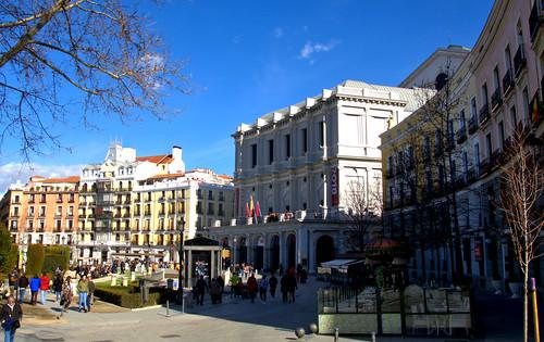 PLAZA DE ORIENTE, MADRID DE LOS AUSTRIAS 8816 3-2-2019
