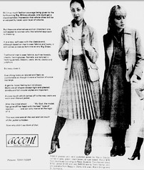 March1978the1st-15thNo24 (mat78au) Tags: march1978melbournenewspapersextracts womens classy winter fashions pleated skirts 1978