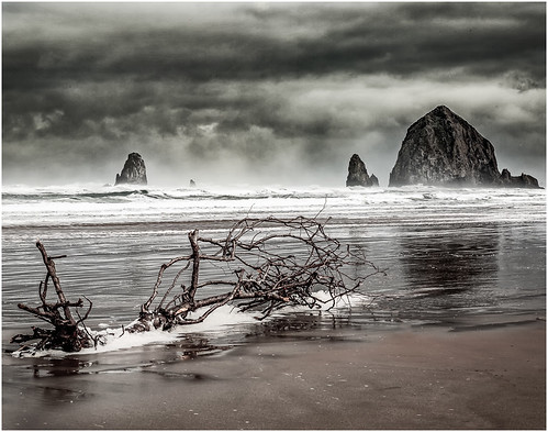 Clearing Storm on Canyon Beach by Steve Ornberg - Award Class A Prints - January 2019