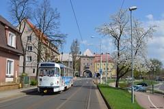 Voorjaar in Tsjechië (Mat'97) Tags: tram tramway tramvaj tatra tramwaj tramcar trams tramlijn trambaan t3 most litvinov litvínova cz
