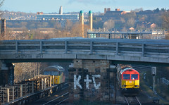 DSC_6638 K&C (Gavin P B) Tags: 60007 56090 heeley loop sheffield toton engineering trains sunday morning rails