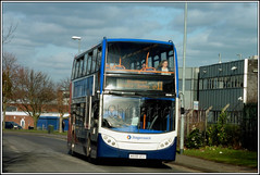 Stagecoach Manchester 19348. (PS_Bus_Driver) Tags: stagecoachmanchester 19348 mx08ucu adl alexanderdennis enviro400