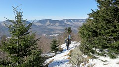 Hurricane Ledge View 1902170315w (gparet) Tags: hike hiking trail trails woods forest nature outdoor outdoors scenic vista naturephotography catskills catskillmountains kaaterskill highpeak sky clouds landscape snow ice