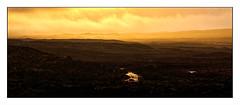 Winter Warmth (ianmiddleton1) Tags: glencoe scottishhighlands moorland winter spring sunshine clouds rain panorama