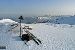 Backcountry (YellowSingle 单黄) Tags: backcountry ski snow peak pyrénées range summit leica pierre st martin mountain skyline
