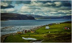 Pure Norway (kurtwolf303) Tags: landscape landschaft fjord norway norge norwegen water wasser kurtwolf303 sky himmel clouds wolken buildings häuser omd mft microfourthirds olympusem1 unlimitedphotos bucht bay gras