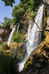 Waterfall - Rifle Falls, Colorado (BeerAndLoathing) Tags: 2018 usa roadtrip riflefalls 77d pallisadetrip august trip waterfall canon summer canoneos77d colorado sigma18300mmf3563
