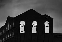 Stik (Rino Alessandrini) Tags: stik graffiti london blackandwhite spooky architecture dark horror house nopeople blackcolor outdoors buildingexterior builtstructure sky everypixel murals streetart facade palace urban design stylized contrast