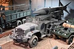 M386 Honest John Rocket Launcher (Bri_J) Tags: landwarfarehall iwm duxford cambridgeshire uk imperialwarmuseum museum militarymuseum warmuseum nikon d7500 mgr1honestjohn mobilerocket m386truck coldwar usarmy rocket nuclearweapon