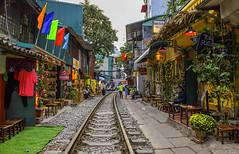 HANOI Train Street (@Jarmila) Tags: hanoi train street portrait reportage vietnamese vietnam girl bar coffee travel architecture history cool nature house ethnic canon sunset colors jarmila hiking outdoors asia indocina people tradition