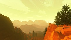 In The Valley of Wind (Nocha_Productions) Tags: camposanto firewatch unity unity3d nochaproductions nocha productions mountain art screenshot screenshots cinematography consoles videogames gaming gamingscreenshot games game gallery gamingart gamingpicture pics pic pc picture photography photo playstation playstation4 ps4 ps4pro xboxone xbox xboxonex windows adventure solo campaign story steam microsoftwindows microsoft valley mountains sun sky tree trees rocks clouds wind