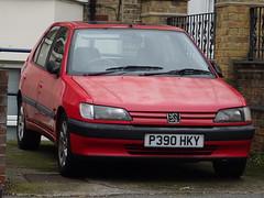 1996 Peugeot 306 1.8 XR Auto (Neil's classics) Tags: vehicle 1996 peugeot 306 xr 1761cc car