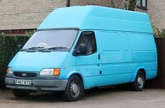 P467 WTG (Nivek.Old.Gold) Tags: 1997 ford transit 190 lwb van 2496cc diesel
