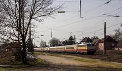 Sonderzüge X (Klaus Z.) Tags: eisenbahn kbs 395 aschendorf br e10 1309 rheingold personenzug sonderzug ake frühling