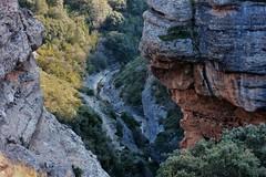 Abrupt path to the hermitage of Saint Cristóbal. Aniés (Huesca, Spain) (marisabosqued) Tags: montaña mountain barranco ravine gorge aniés huesca aragón españa spain