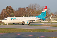 Boeing 737-8C9(WL) - LX-LBA - HAJ - 02.04.2019(2) (Matthias Schichta) Tags: haj hannoverlangenhagen eddv flugzeugbilder planespotting luxair lxlba boeing b737800