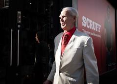 Scruff - Soho London 2019 (XBeauPhoto) Tags: london march2019 ambiguity ambiguous candid elderly fashion gentleman red scruff soho streetcandid streetphoto streetphotography suit suited