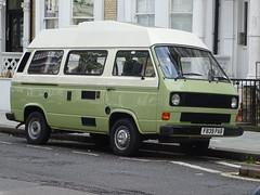 1988 Volkswagen Transporter Camper Van (Neil's classics) Tags: vehicle 1988 volkswagen transporter camper van t3 t25 vw camping motorhome autosleeper motorcaravan rv caravanette kombi mobilehome dormobile