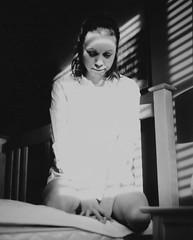 Noir boudoir (will_i_be) Tags: mamiya boudoir girl natural light kodak e100 rb67 medium format black white