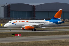 RA-89096 Azimuth Airlines Sukhoi Superjet 100-95LR (Nathan_Ivanov) Tags: airplane aircraft vko vnukovo uuww spotting superjet azimuth